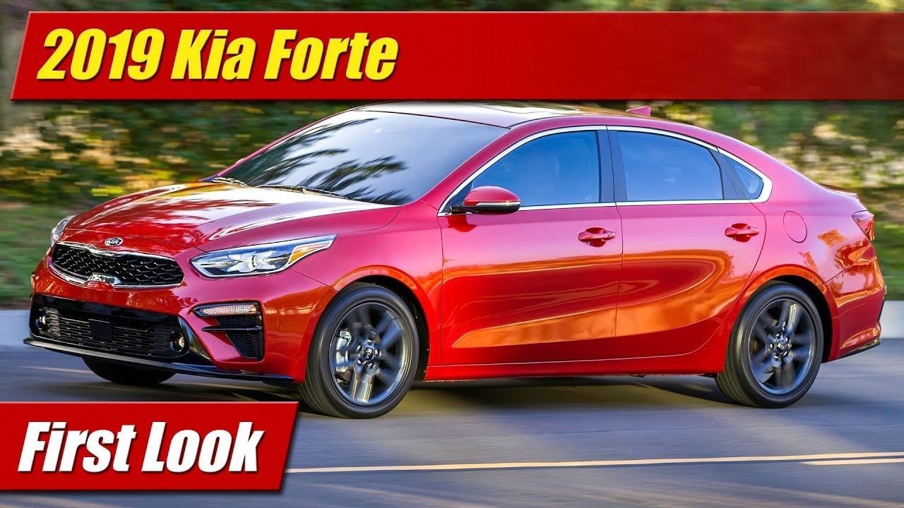 2019 Kia Forte First Look