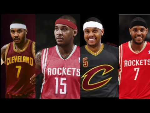 Carmelo Anthony Tells New York Knicks He Willing To Play For Cleveland Cavaliers Or Houston Rockets