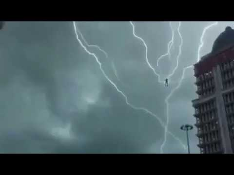 The floating man?struck by lightning!!! & The floating man?struck by lightning!!! - YouTube azcodes.com
