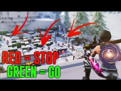RED = STOP, GREEN = GO *MINGAME* (GISSA VILKEN SNÖ GUBBE DET ÄR)