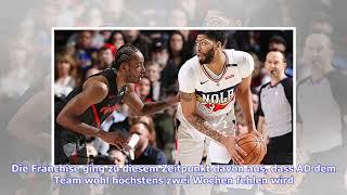 NBA-News: Fehlt Anthony Davis den Pelicans doch länger als gedacht?