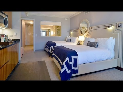 Terrace studio tour cosmopolitan of las vegas youtube for Terrace 1 bedroom cosmopolitan