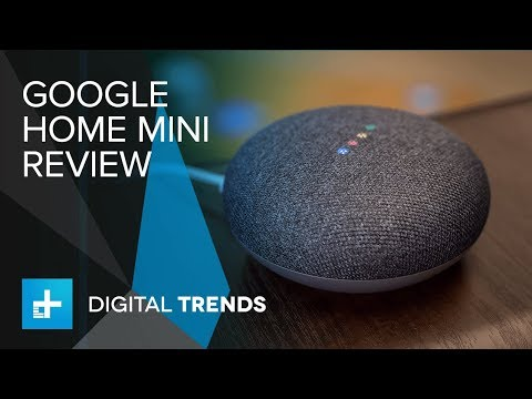 Google Home Mini Hands On Review Youtube