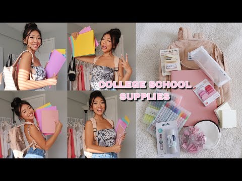 ☆ COLLEGE BACK TO SCHOOL SUPPLIES HAUL📚✏️