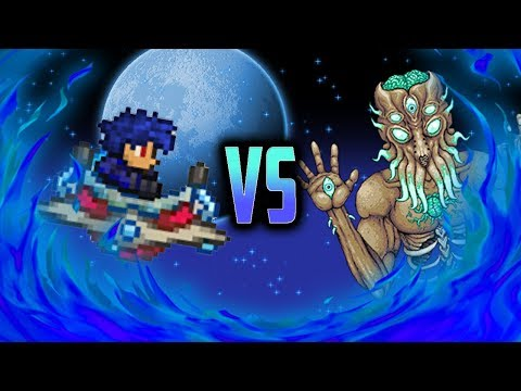Terraria 1.3 Mobile IOS/Android Moonlord Boss Battle - Early Beta Update Gameplay
