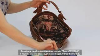 """Видеообзор женской сумки """"Камелия"""" (модель 51)"""