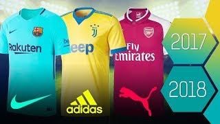 Fc barcelona, real madrid, manchester united & more | new kits 2017/2018 leaks rumors