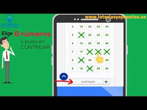 Cómo Jugar A La Primitiva En Loteriasyapuestas.es