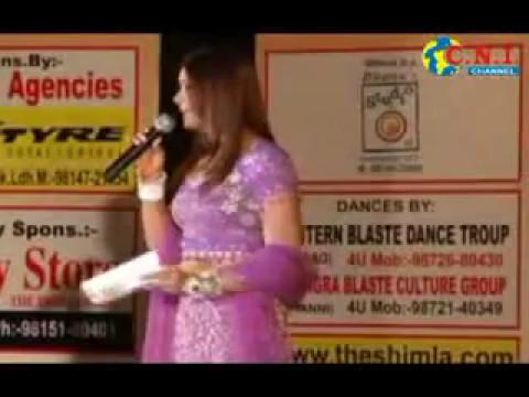 Satinder Satti Awesome Shayari in Mrs Ludhiana Event
