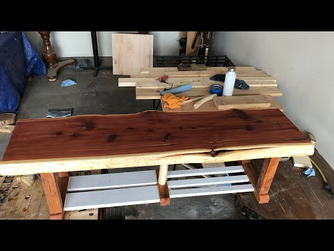 DIY TV console without any (power saw or nails)