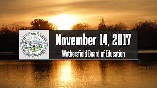 November 14th, 2017 Board of Education