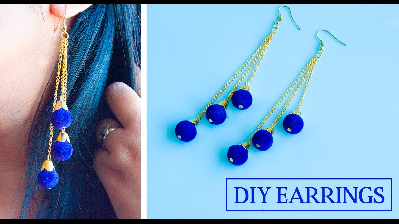 How To Make Earrings At Home Diy Jewelry Making Beads Art