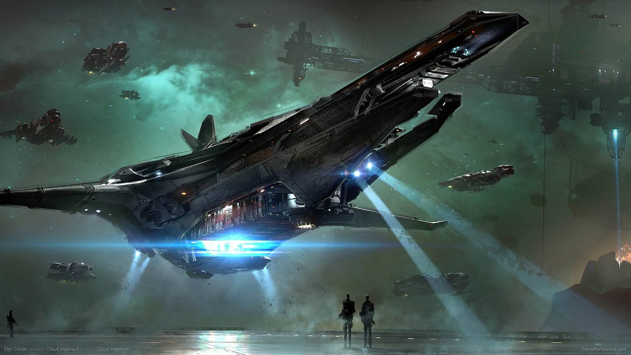 Star Citizen Cinematic Video Game Trailers 2016 Edition
