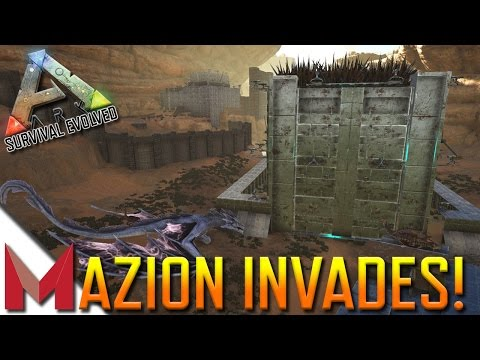 MAZION INVADES NA-ScorchedEarth??? -=- ARK: SCORCHED EARTH GAMEPLAY -=- MAZION INVADES 10