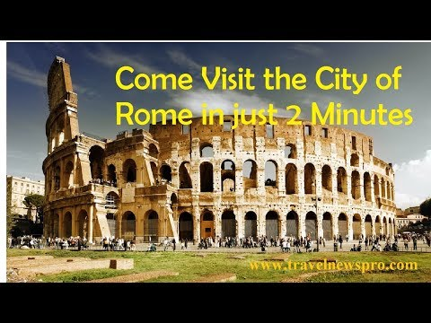 Top Travel Places In The World | Rome City, Italy