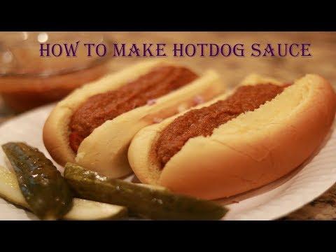 The Best Hot Dog Sauce Recipe