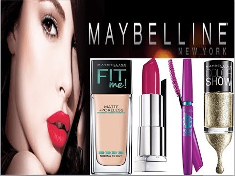 Top 10 Best Maybelline Products In India With Price Youtube