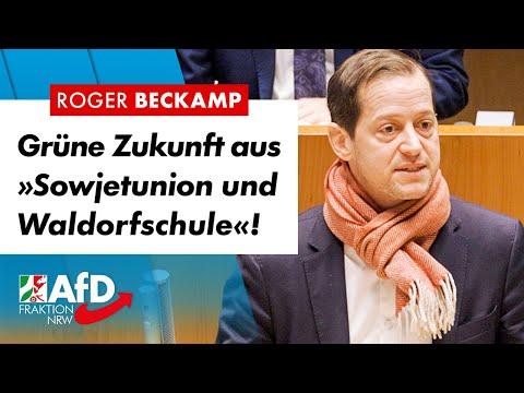 """Grüne Zukunft aus """"Sowjetunion und Waldorfschule""""! – Roger Beckamp (AfD)"""
