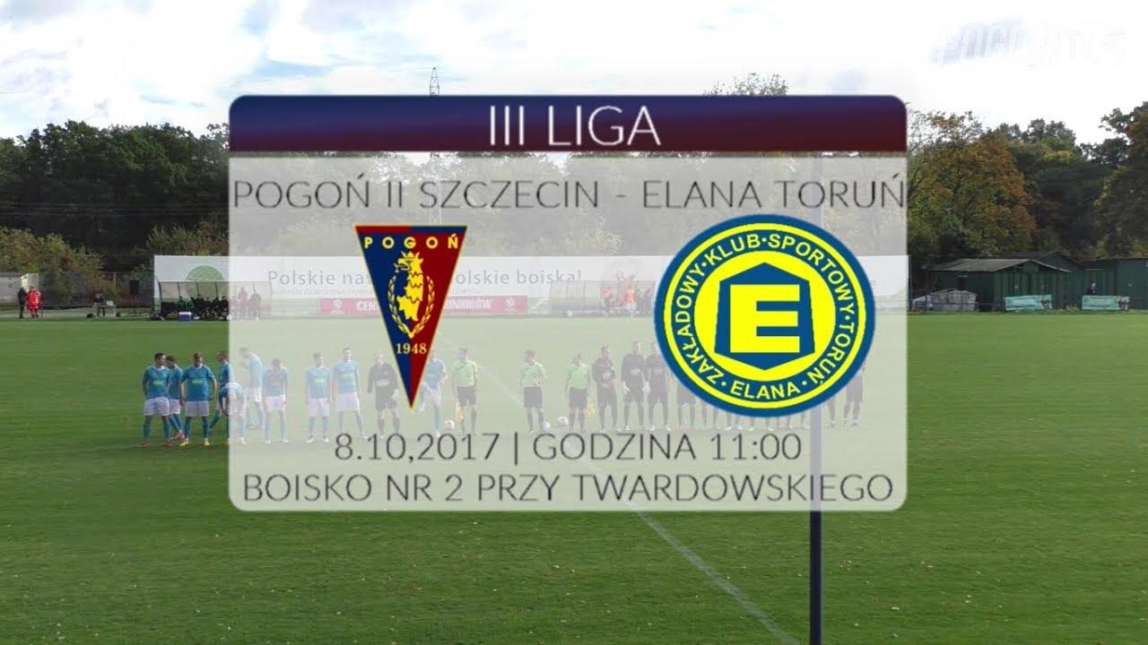 III liga: Pogoń II Szczecin – Elana Toruń 1:3 (1:2)