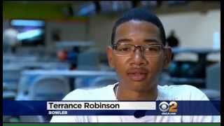 Bowling Is A Sport | CBS Los Angeles On Terrence Robinson