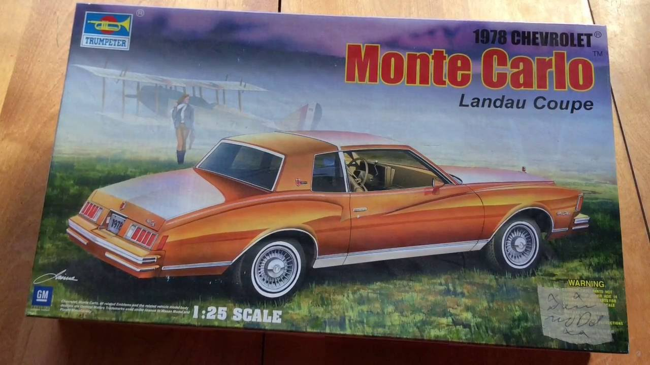Trumpeter 1:25 1978 Chevrolet Monte Carlo Landau Coup by Jan Haayer