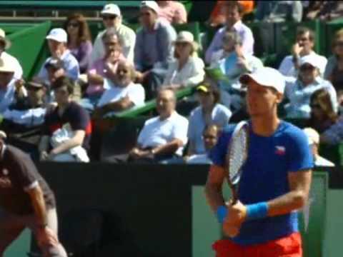 Davis Cup Highlights: Carlos Berlocq v Tomas Berdych