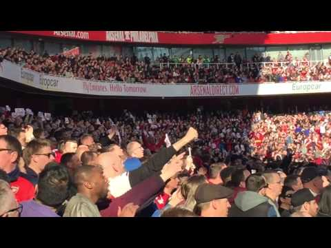 Arsenal v Norwich 1-0 | Fans Protest Inside The Emirates