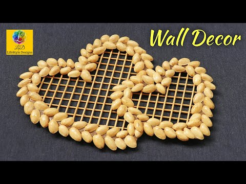DIY Pista Shell Crafts Ideas |Beautiful Pistachio Shells Wall Decor & Photo Frame| Best out of waste