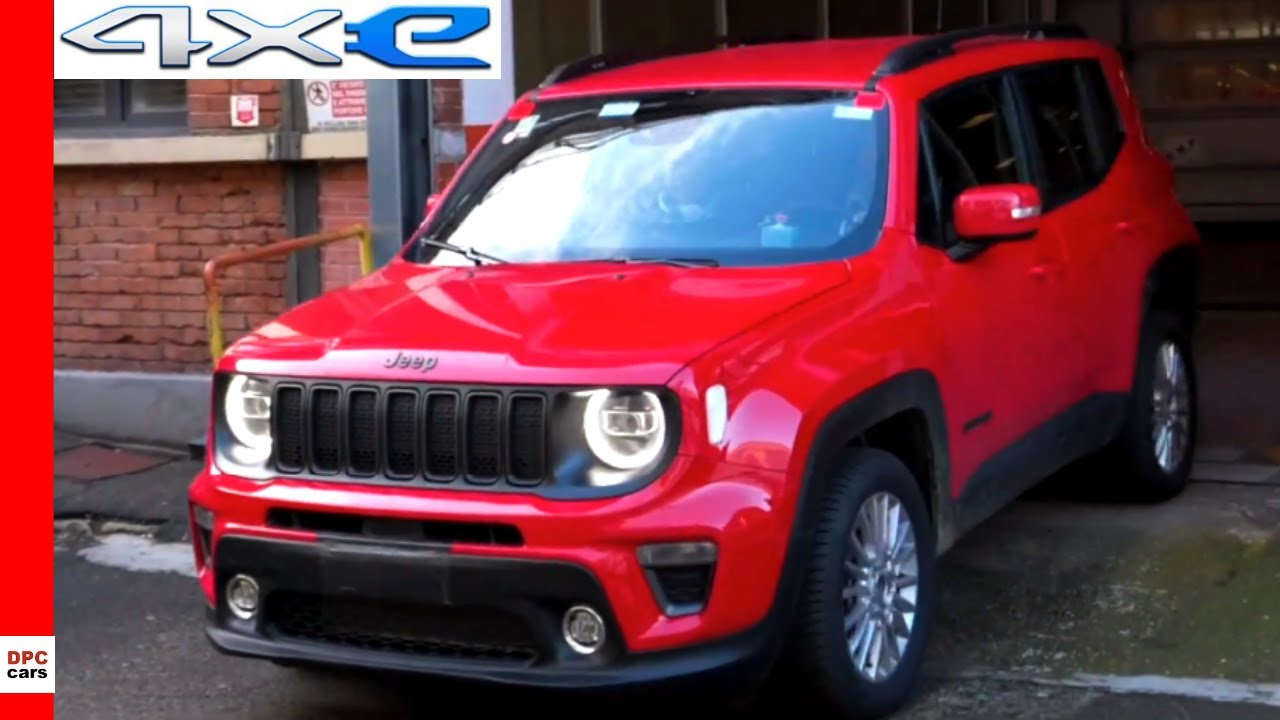 New Jeep Renegade And Compass 4xe Plug In Hybrid Testing Youtube