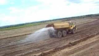 DUMP TRUCK CAT 777D  777B excavators