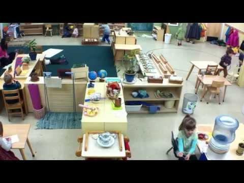 Time lapse of the Sage classroom at Puddletown School