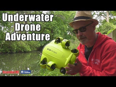QYSEA FIFISH V6 Underwater 4K DRONE: CANAL ADVENTURE !