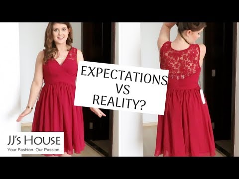 7087d938ffb88 JJ s House Review of Wedding Dress. I m a Princess Now!