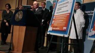 Mayor Bloomberg Announces New Initiative to Combat Opioid Painkiller Abuse