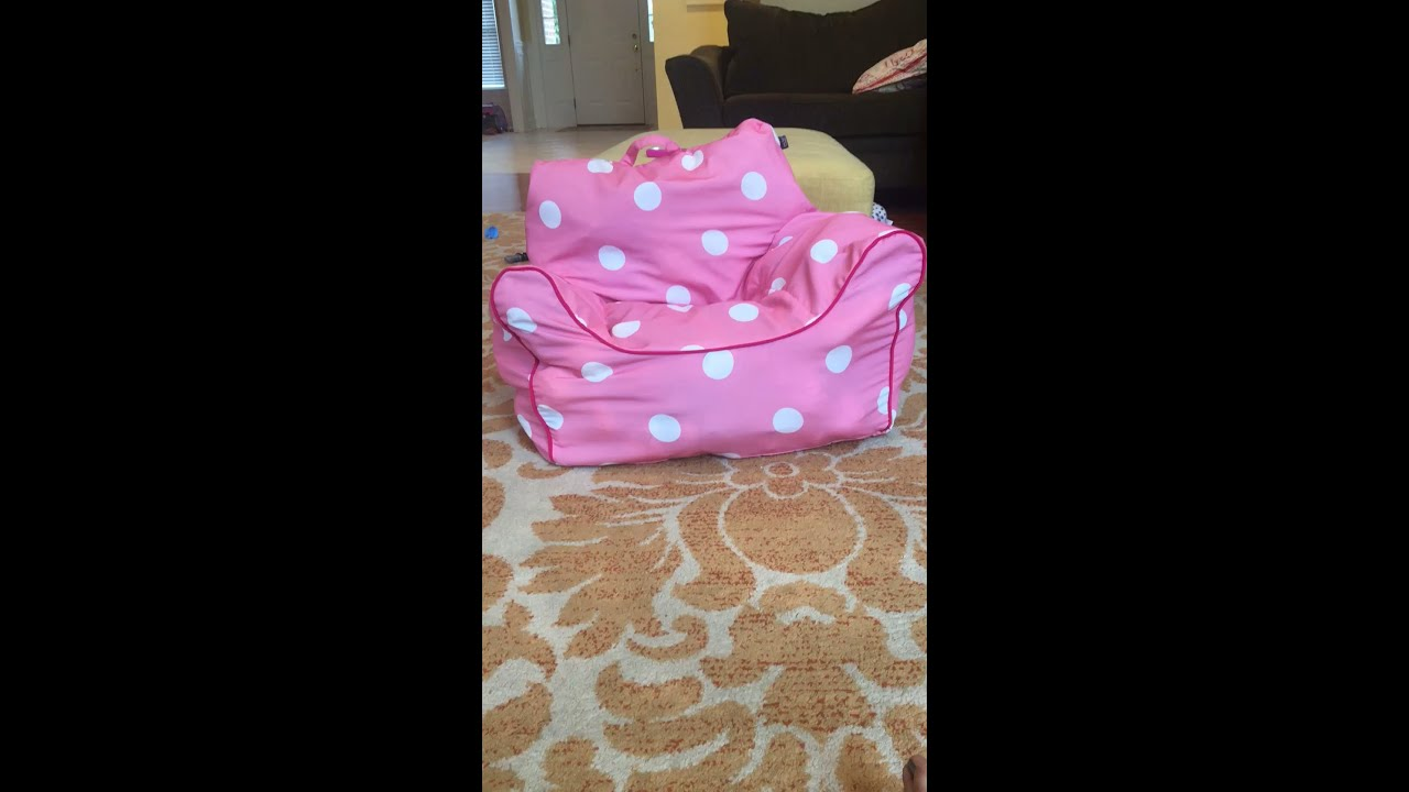 DIY Stuffed Animal Bean Bag Chair Old To New