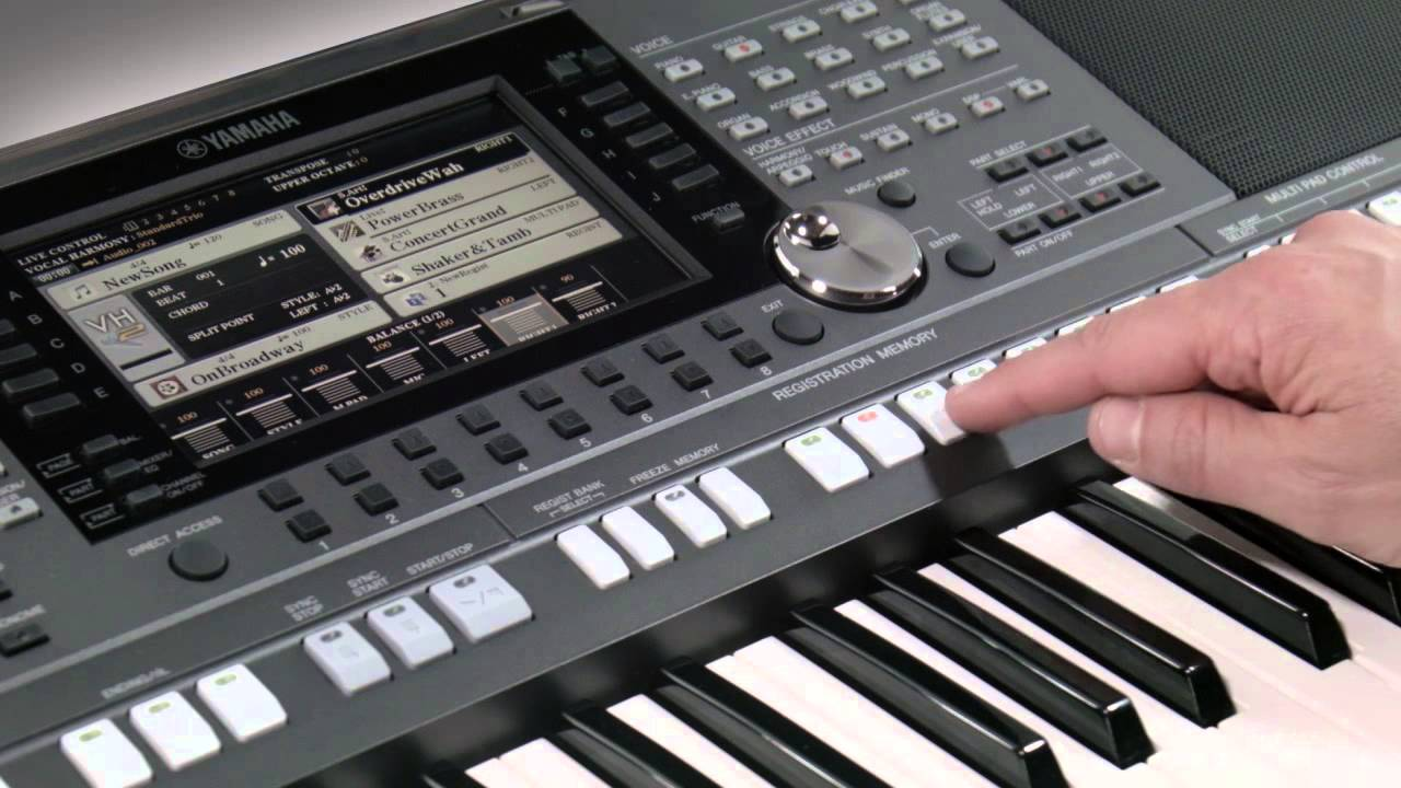 Difference Between Yamaha Psr And