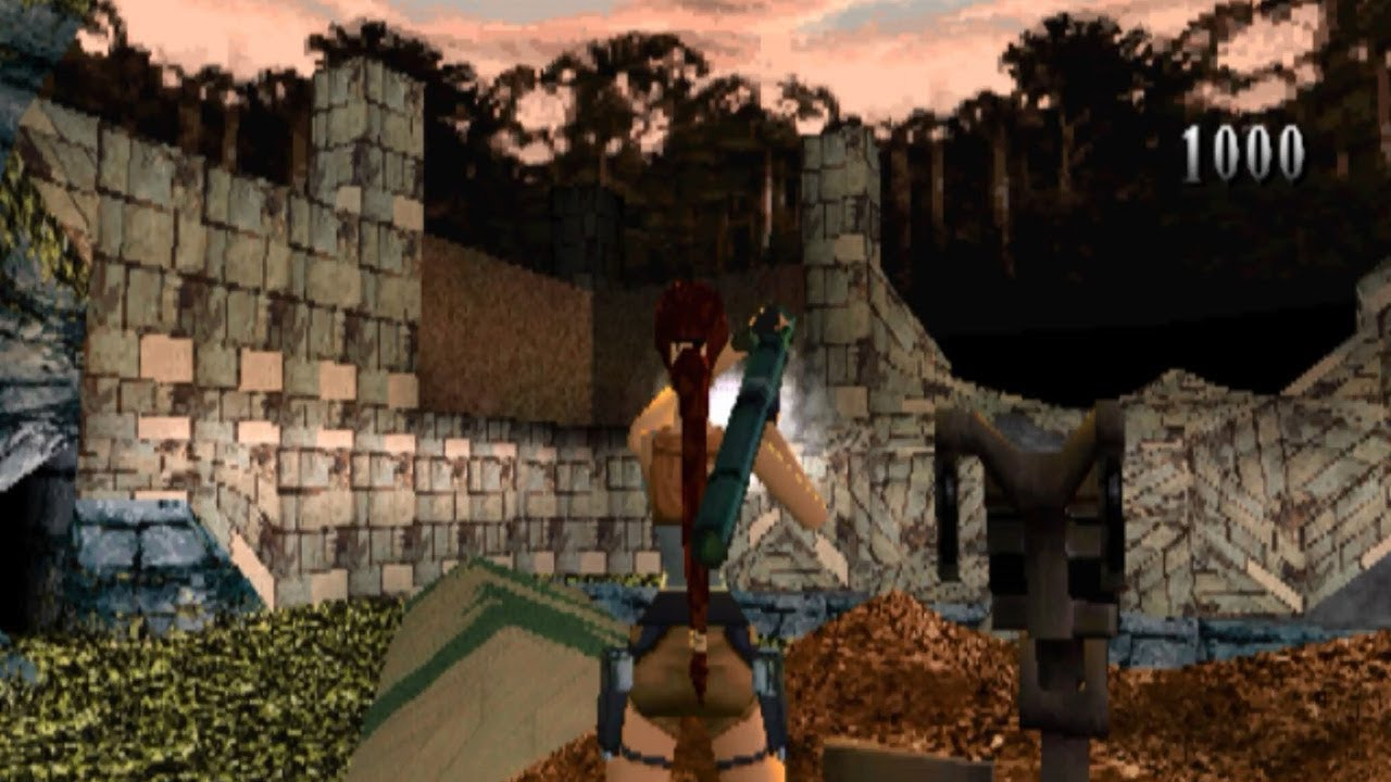 Psx Tomb Raider 3 Beta 05 10 1998 Crash Site Youtube