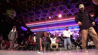 Dimension vs YOSHIO @ HIPHOP FOREVER JAPAN 2017 JUDGE CALL-OUT BATTLE