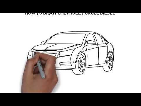 How To Draw Chevrolet Cruze Diesel