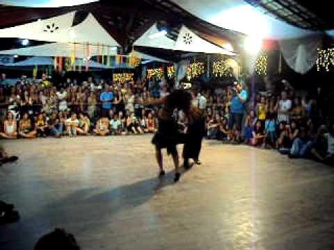Didi e Patricia no IV berg congress de zouk lambada em Porto Seguro/ 2011 -