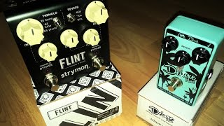 Mr Black Deluxe Plus Vs Strymon Flint - Demo And Review