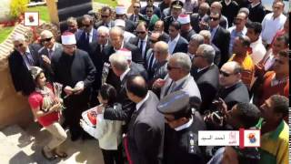 بالفيديو والصور.. وزير الأوقاف يفتتح ''مسجد الصحابة'' بالسوق التجاري في شرم الشيخ