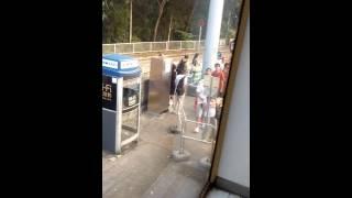 2015年10月13日大欖隧道站