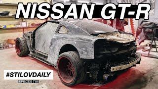 КОРЧУЕМ NISSAN GT-R. ПРОБЛЕМЫ КУЗОВНИ