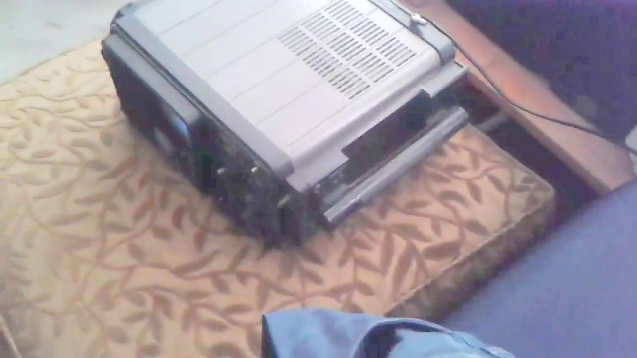 Vintage 1977 Panasonic Solid State TR-707 Portable Battery TV