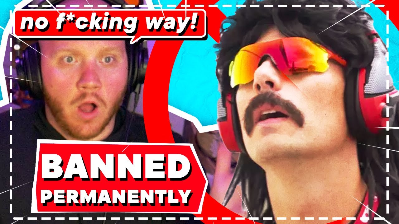 Streamers Reaction On Dr.Disrespect Permanent Ban On Twitch (TimTheTatman, XQC, Hasan etc)
