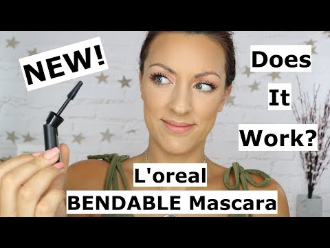Loreal Unlimited BENDABLE Mascara | Best Ever DRUGSTORE Mascara?