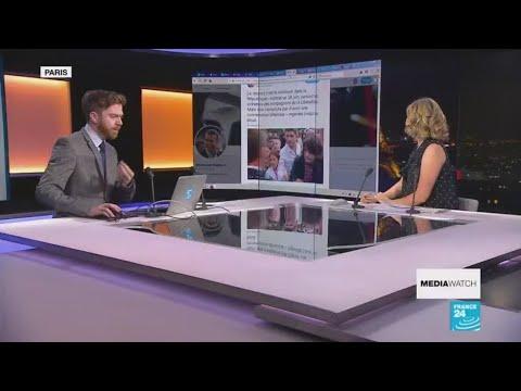 فرانس 24:Trump's anti-Merkel Twitter tirade
