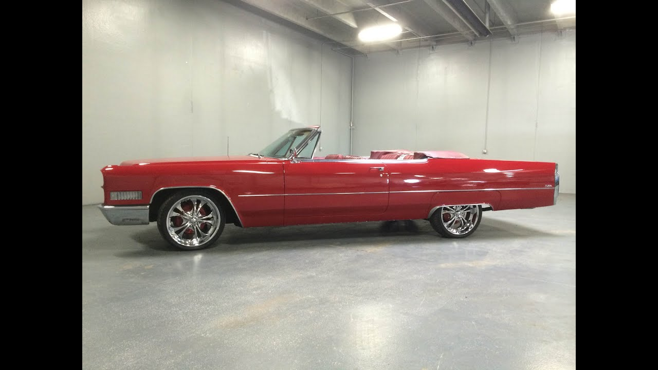 1966 Cadillac DeVille Convertible 48k Original Miles, Unrestored ...