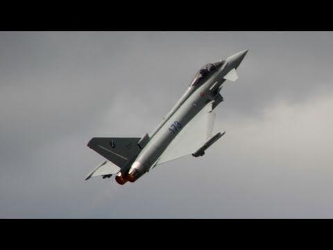 Eurofighter Typhoon - Extreme Demonstration Of Maneuverability